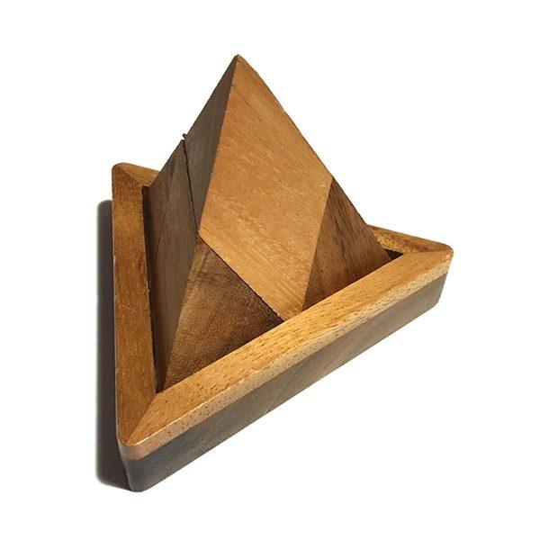 """""""Tabby Pinnacle"""" Wooden Building Blocks (LG001)"""